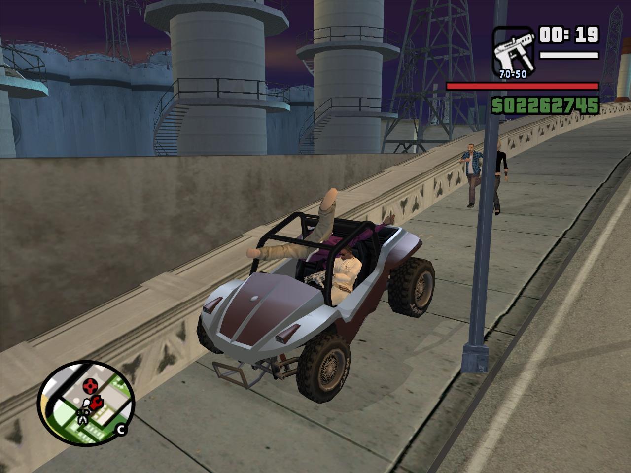 Компактно упаковался - Grand Theft Auto: San Andreas
