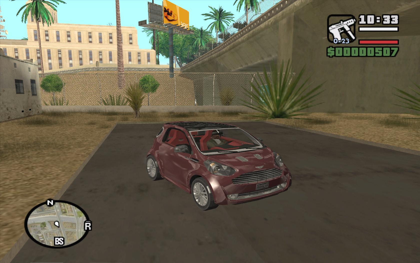 Aston Martin Cygnet - Grand Theft Auto: San Andreas