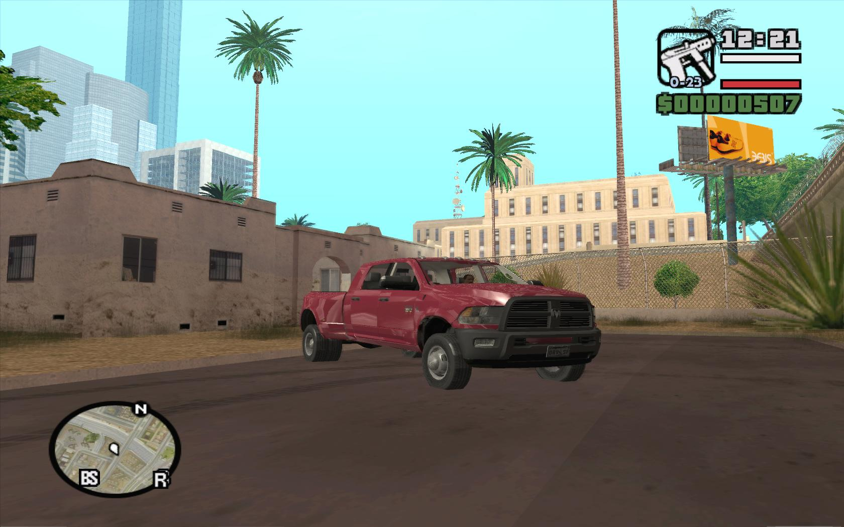 Dodge Ram 3500 - Grand Theft Auto: San Andreas