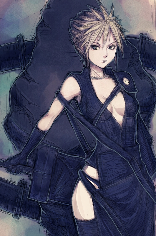 Клоуд - Final Fantasy 7
