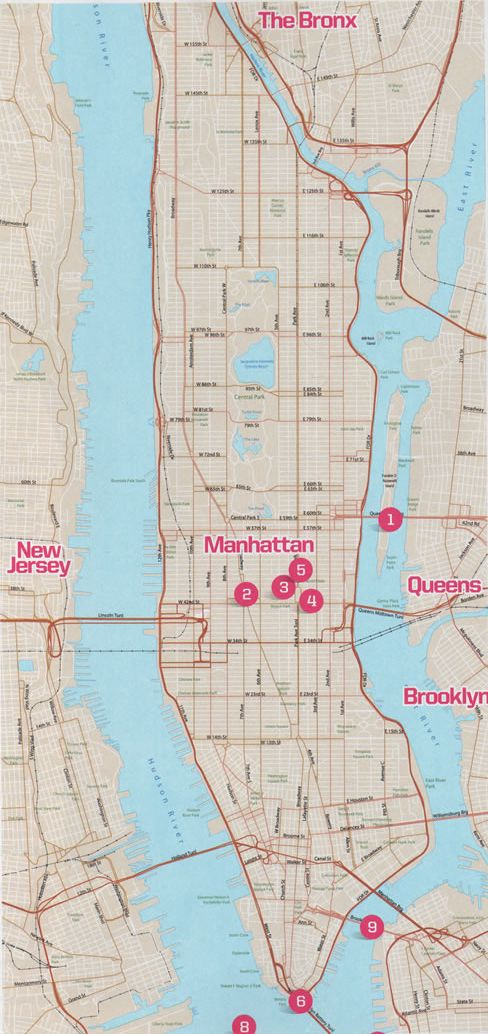 map NY - -