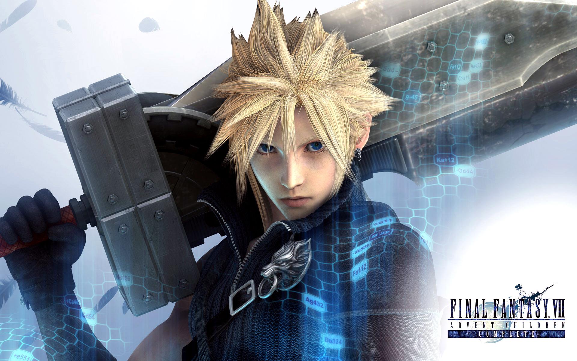 Клауд - Final Fantasy 7 Клауд Страйф