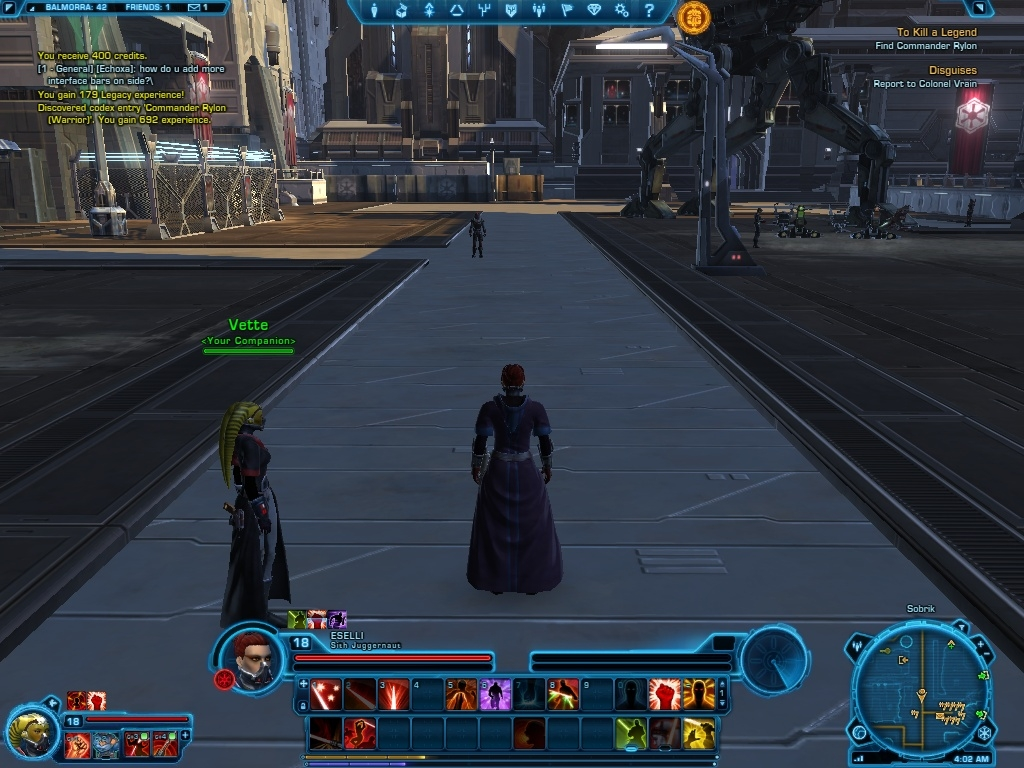 a2 - Star Wars: The Old Republic