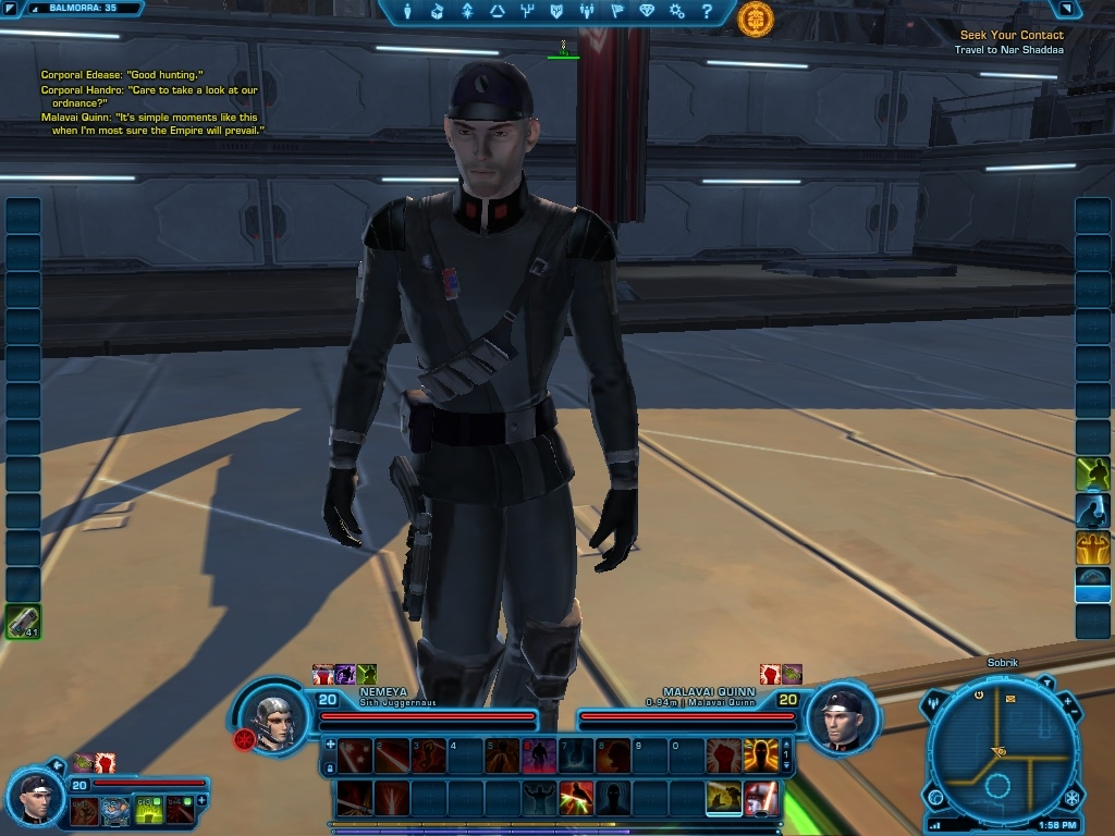 G1 - Star Wars: The Old Republic