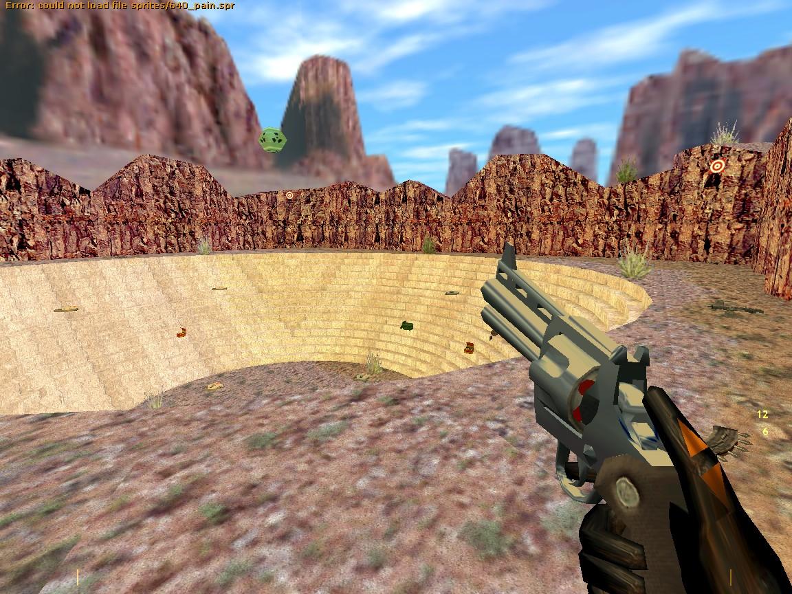 Глючный HUD - Half-Life