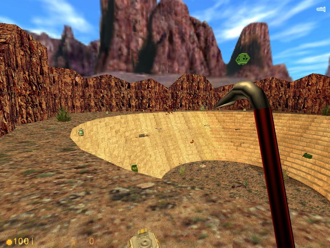 16-мегабайтовый ХЛ: воспроизведение демки через viewdemo - Half-Life