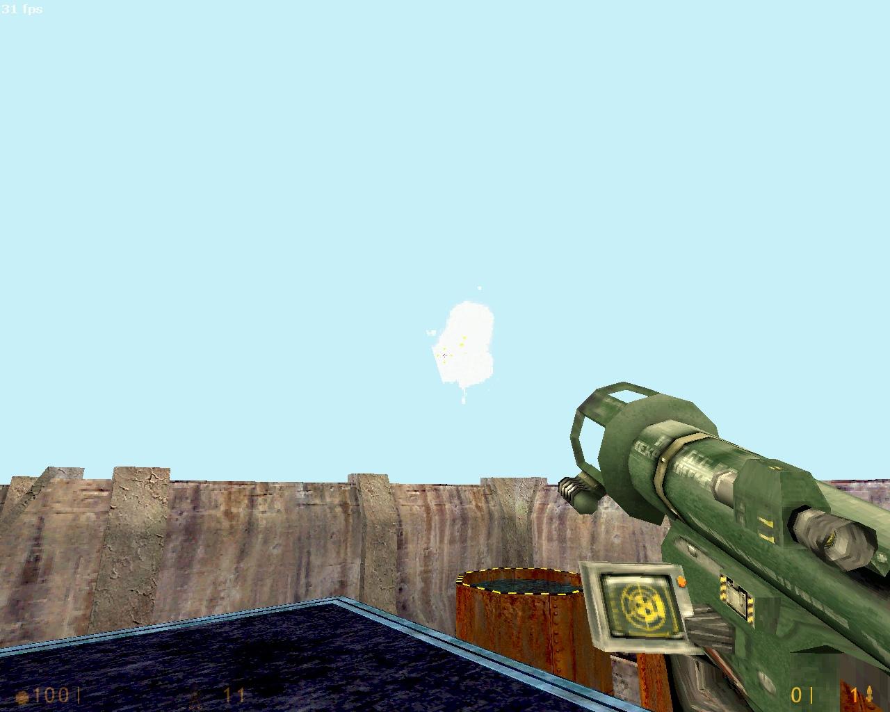 заменённая текса неба в SOFTWARE - Half-Life