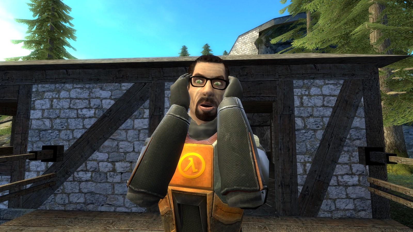 О УЖАС!!! - Half-Life 2
