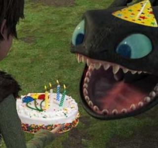 Беззубик картинка с днем рождения