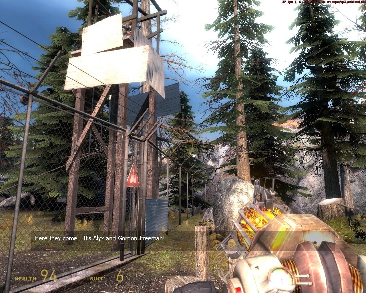 Без машины не пускают - Half-Life 2