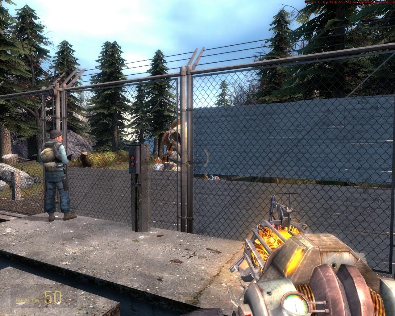 Ну всё, пробрался, а Пса и Аликс не пустят :P - Half-Life 2