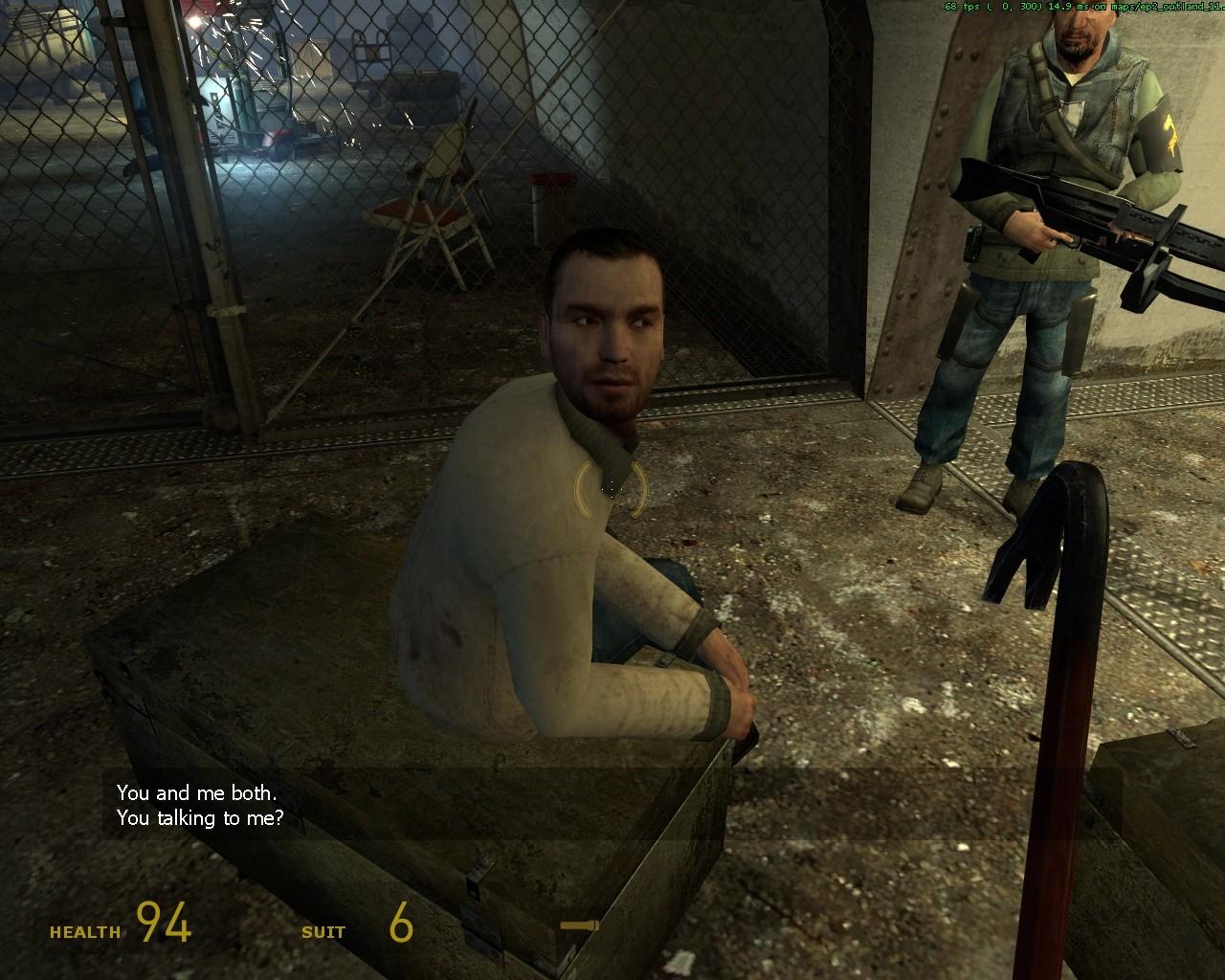 Шея не болит? - Half-Life 2