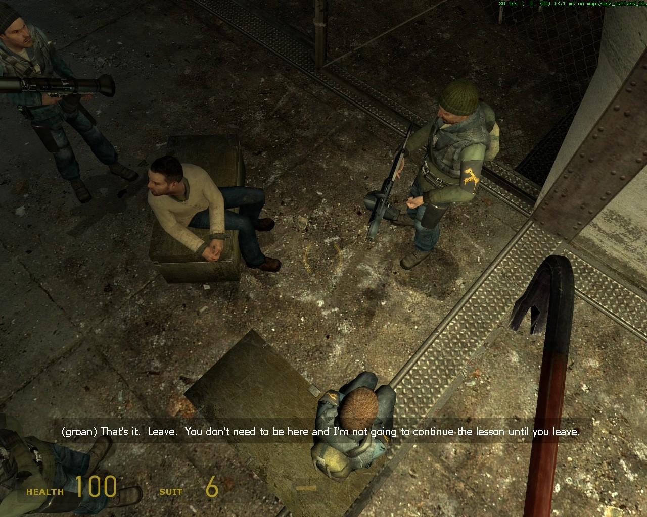 Вид сверху - Half-Life 2