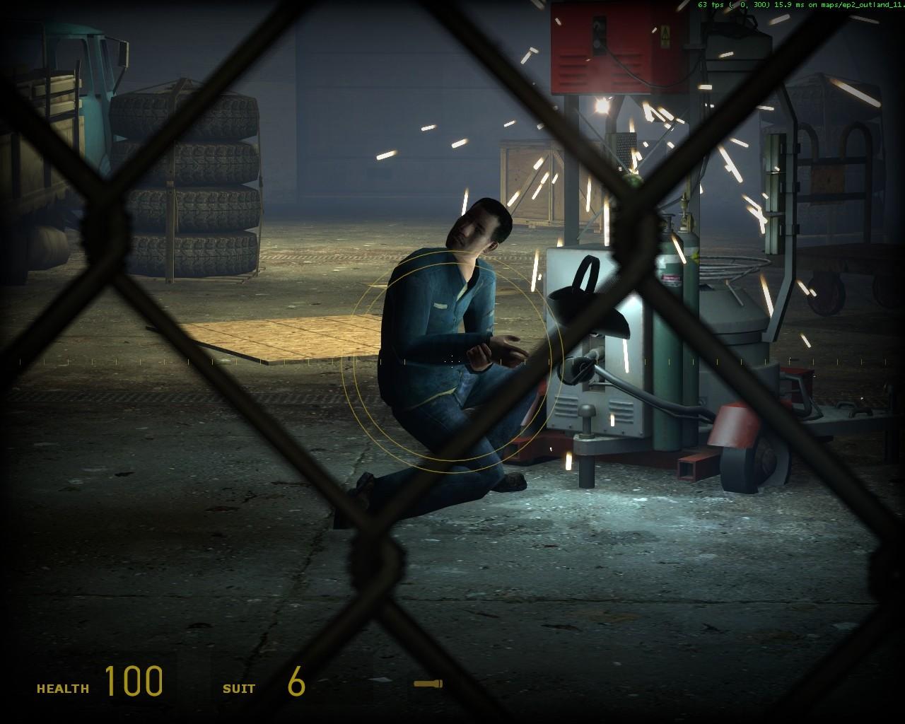 Сварщик с %MADSKILLZ% или телекинезом - Half-Life 2