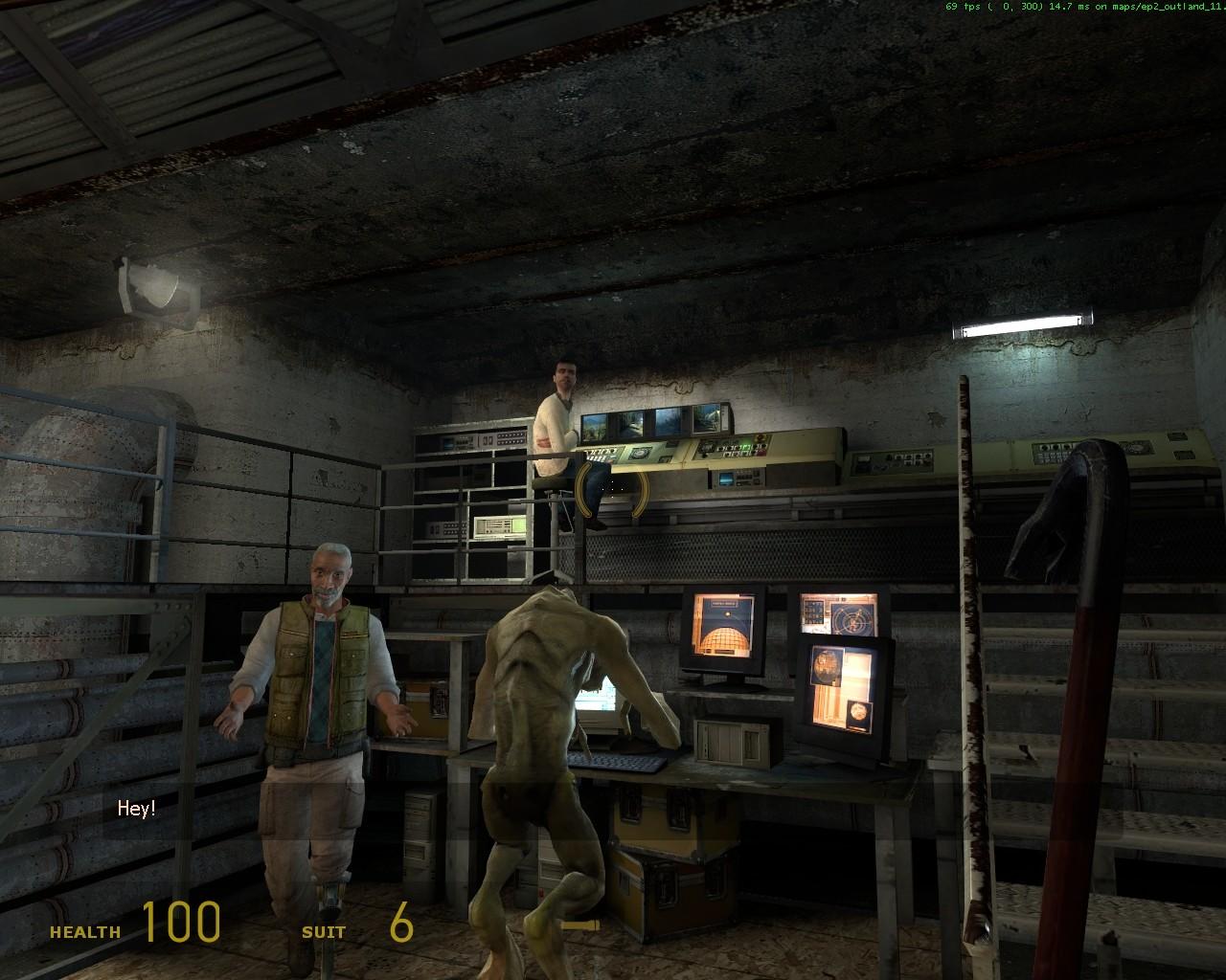 Любитель подсматривать и подслушивать... - Half-Life 2
