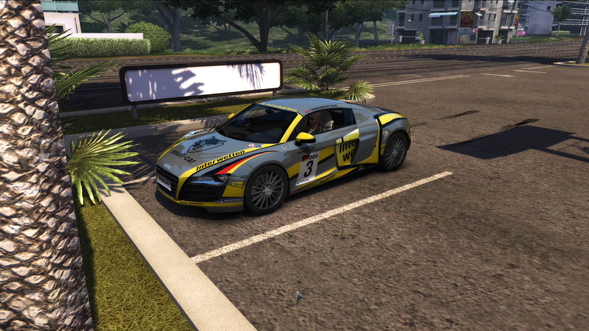 "TDU 2. Audi R8 Quattro R Tronic ""Shift 2: Unleashed"" Style - Test Drive Unlimited 2"