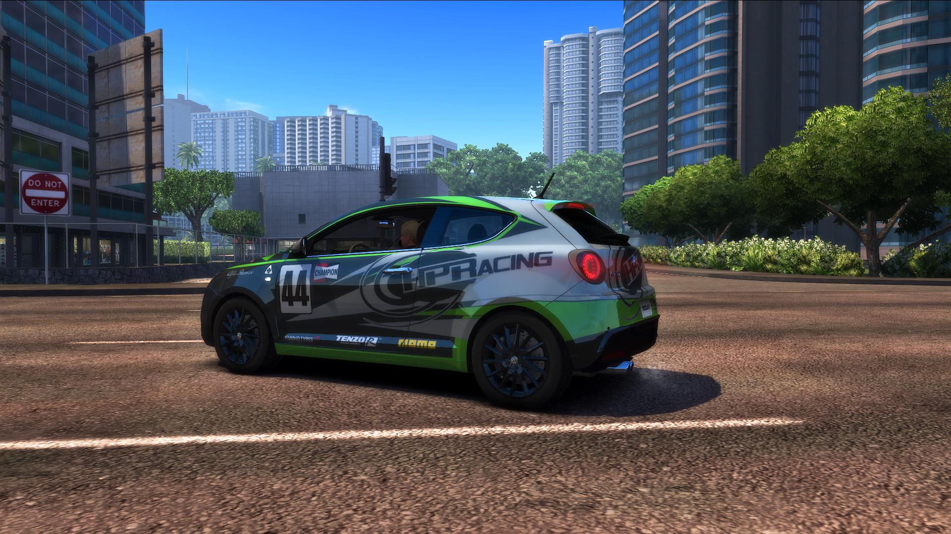 "TDU2. Alfa Romeo MiTo Quadrifoglia Verde ""Shift2"" Style - Test Drive Unlimited 2"