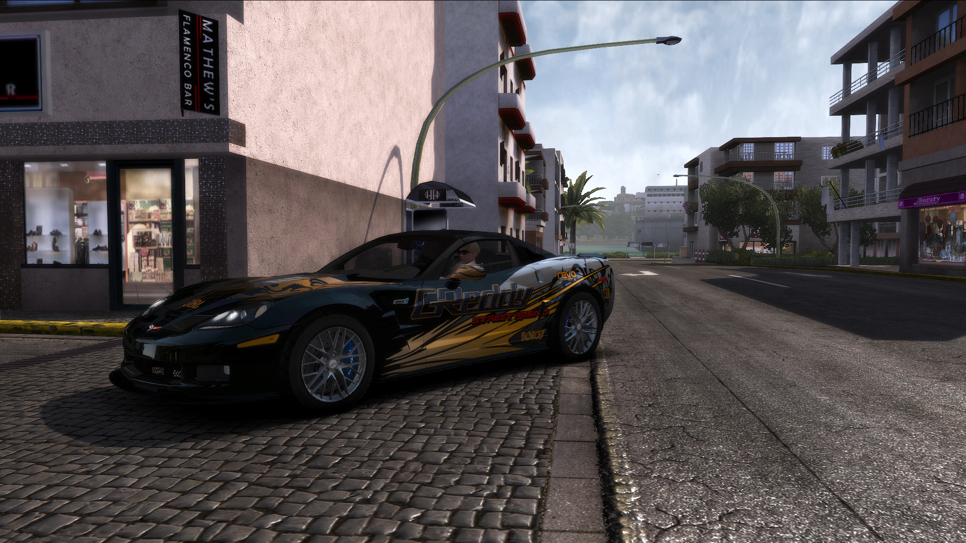 "TDU2. Chevrolet Corvette ZR1 ""NFS: Most Wanted (2005)"" Style - Test Drive Unlimited 2"