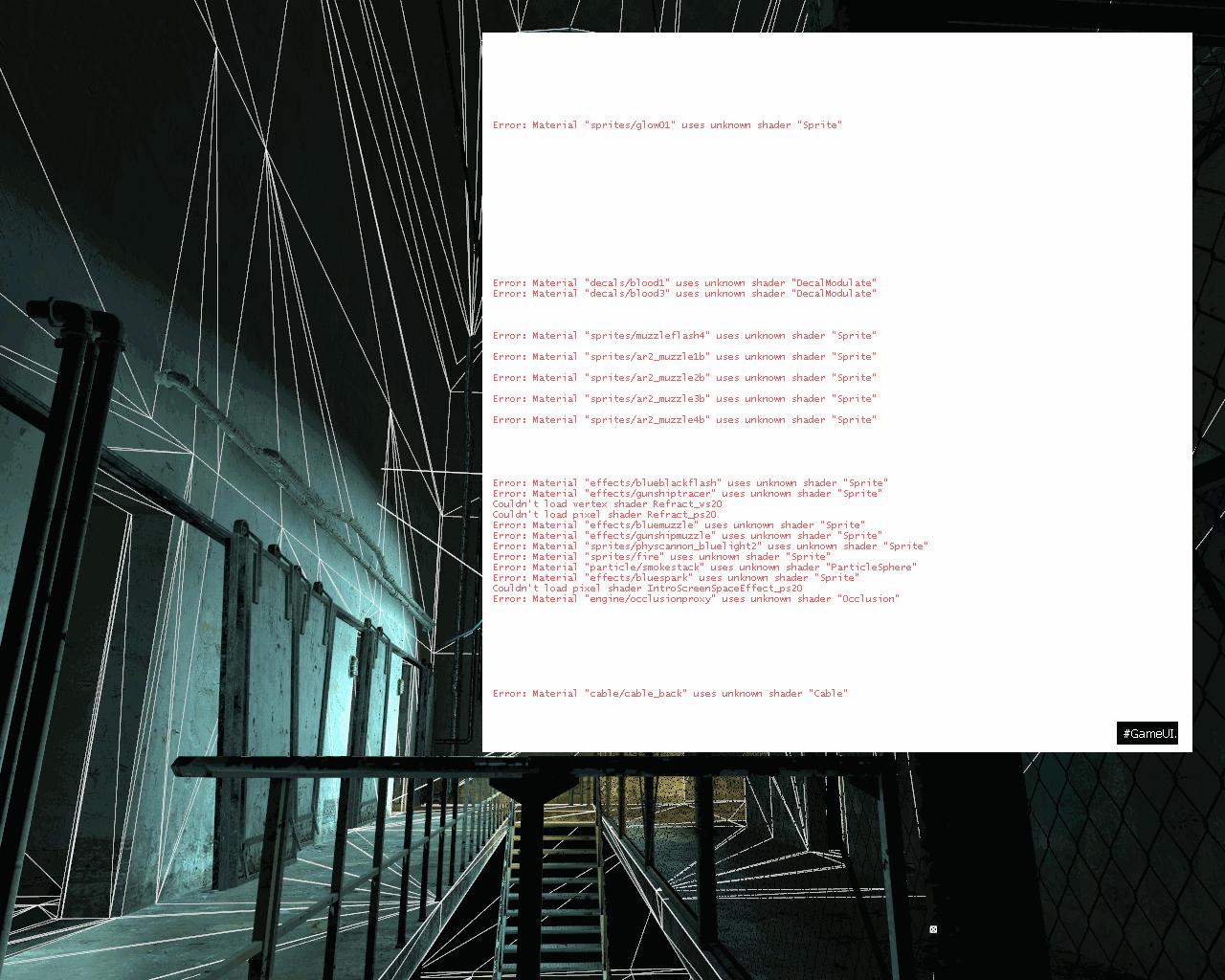Белая консоль - Half-Life 2