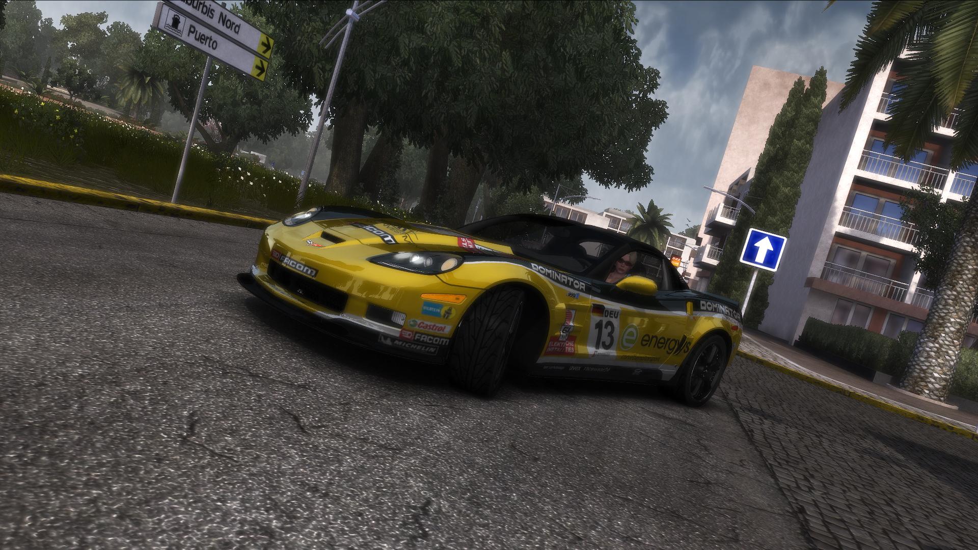 "TDU2. Chevrolet Corvette ZR1 ""Shift 2: Unleashed"" Style. ""Dominator"" - Test Drive Unlimited 2"