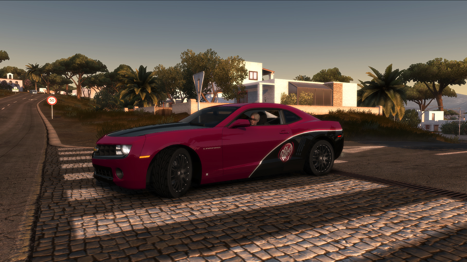 "TDU2. Chevrolet Camaro 1LT ""Shift 2: Unleashed"" Style. ""Dr.Pepper"" - Test Drive Unlimited 2"