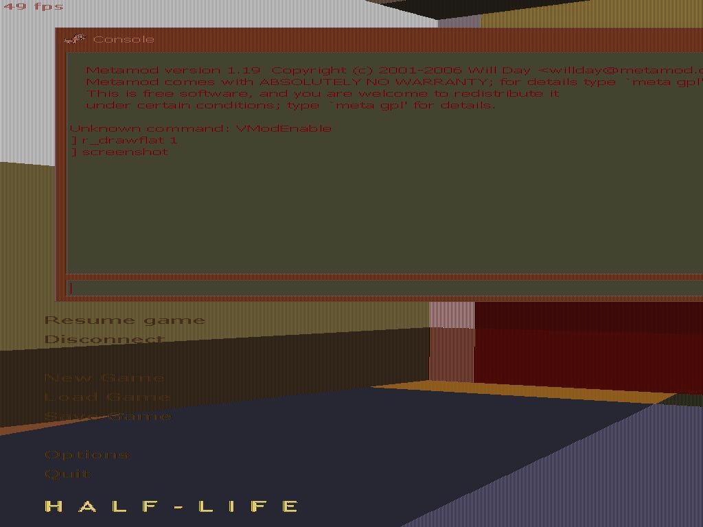 pcx-скриншот с RLE-сжатием, сделанный из software - Half-Life