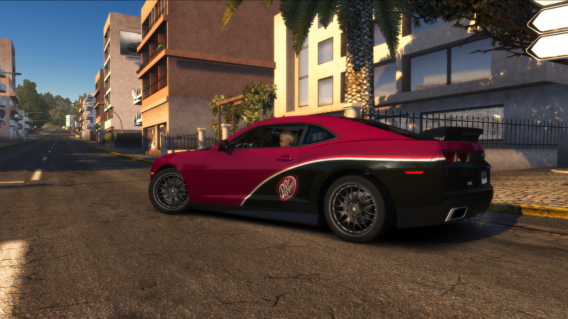 "TDU2. Chevrolet Camaro Synergy Special Edition ""Shift 2"" Style. ""Dr.Pepper"" - Test Drive Unlimited 2"