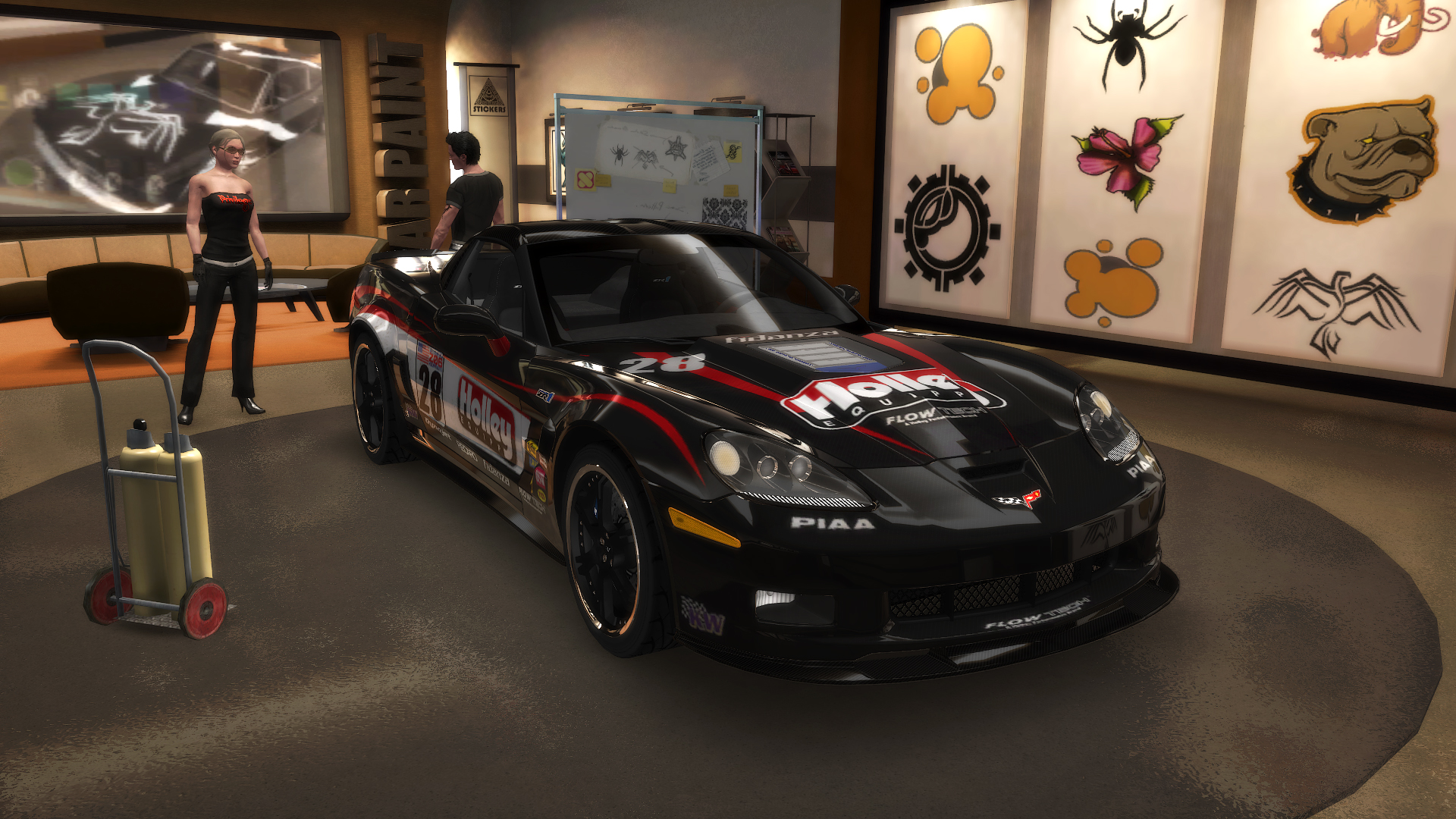 "TDU2. Chevrolet Corvette ZR1 ""Shift 2: Unleashed"" Style. ""Holley"" - Test Drive Unlimited 2"