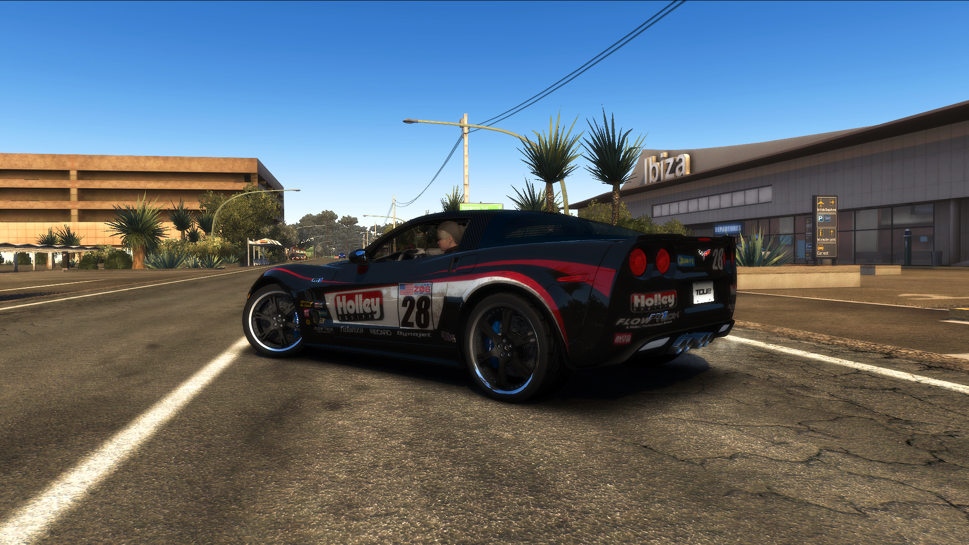 """TDU2. Chevrolet Corvette ZR1 """"Shift 2: Unleashed"""" Style. """"Holley"""" - Test Drive Unlimited 2"""