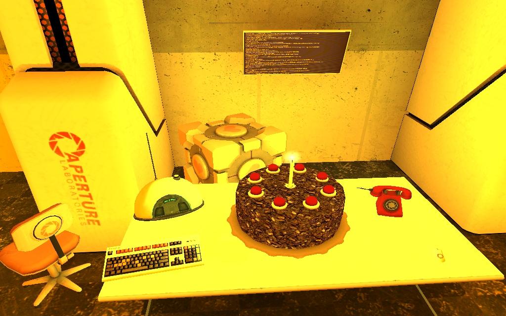 betha_F.jpg - Half-Life 2 cake is a lie, Half-Life 2 Beta, HL2Beta, тортик - ложь