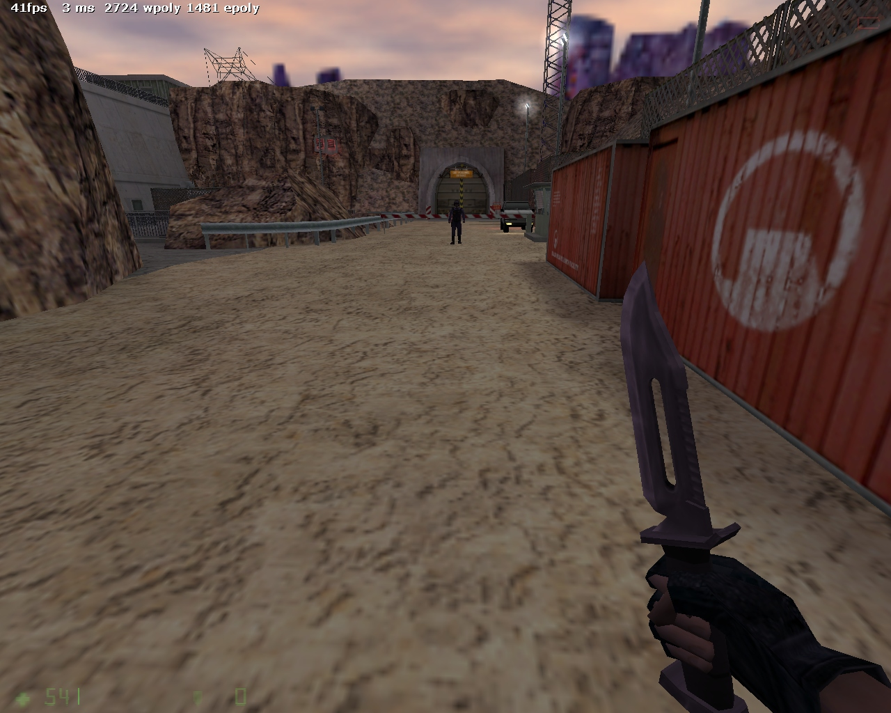 Огромный r_speeds - Half-Life