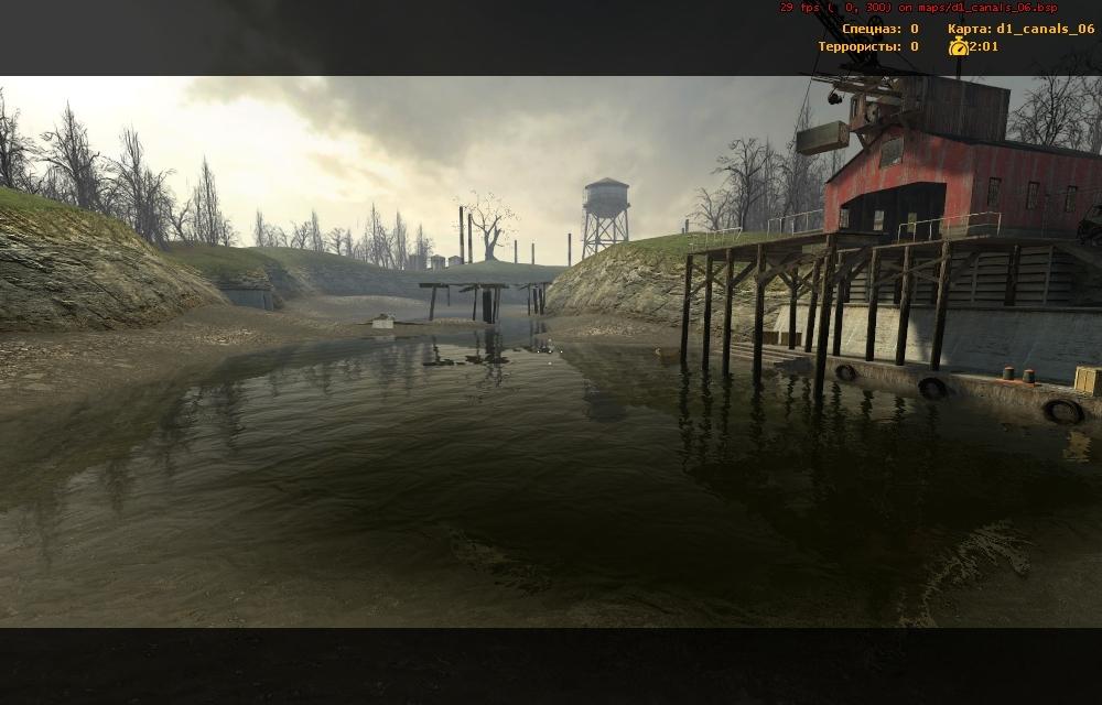 d1_canals_06 в КСС - Half-Life 2