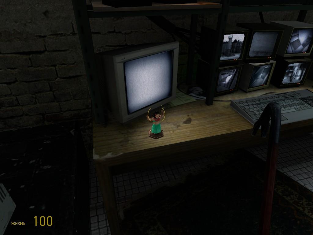 эта же фигурка стоит и во 2 ом эпизоде в конце - Half-Life 2