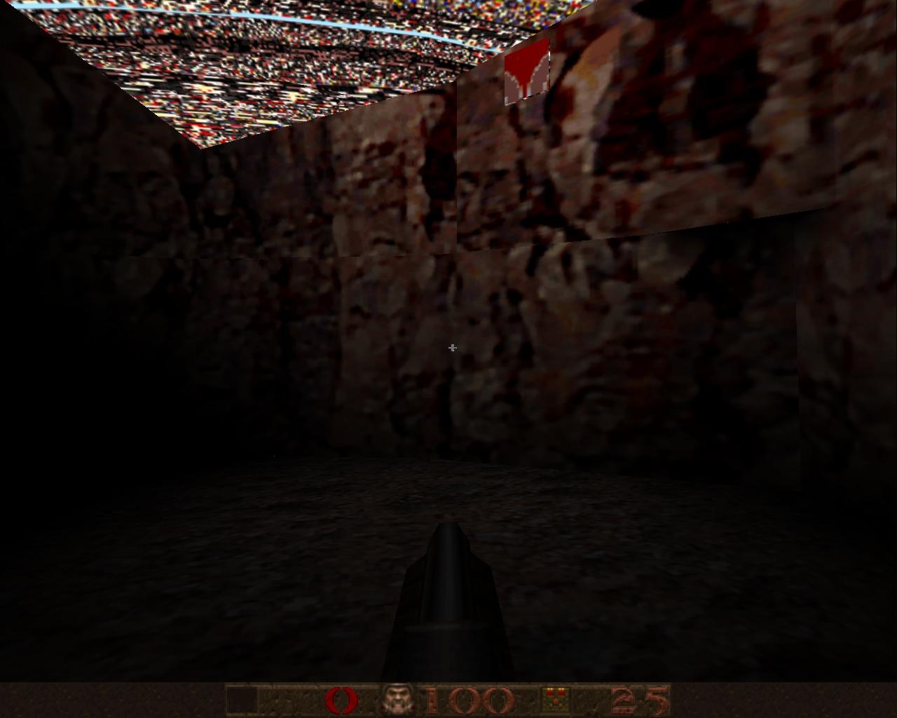 Карта из ХЛ в ГЛ-кваке - Quake