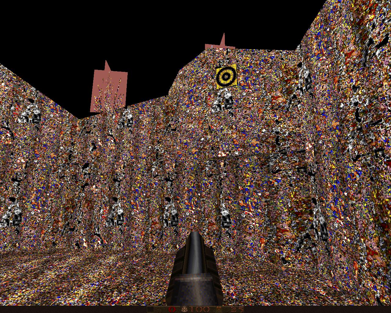 Карта из ХЛ в кваке - Quake