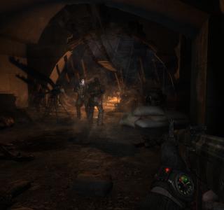 Metro 2033 (осторожно, тяжеловесные скриншоты)