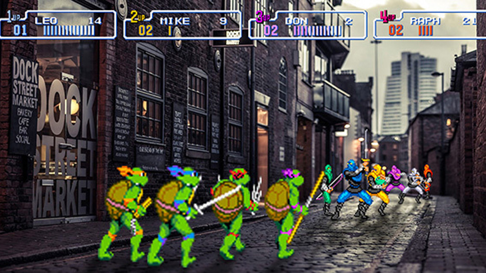 Homenagem Super Nintendo - Teenage Mutant Ninja Turtles IV: Turtles in Time - Teenage Mutant Ninja Turtles