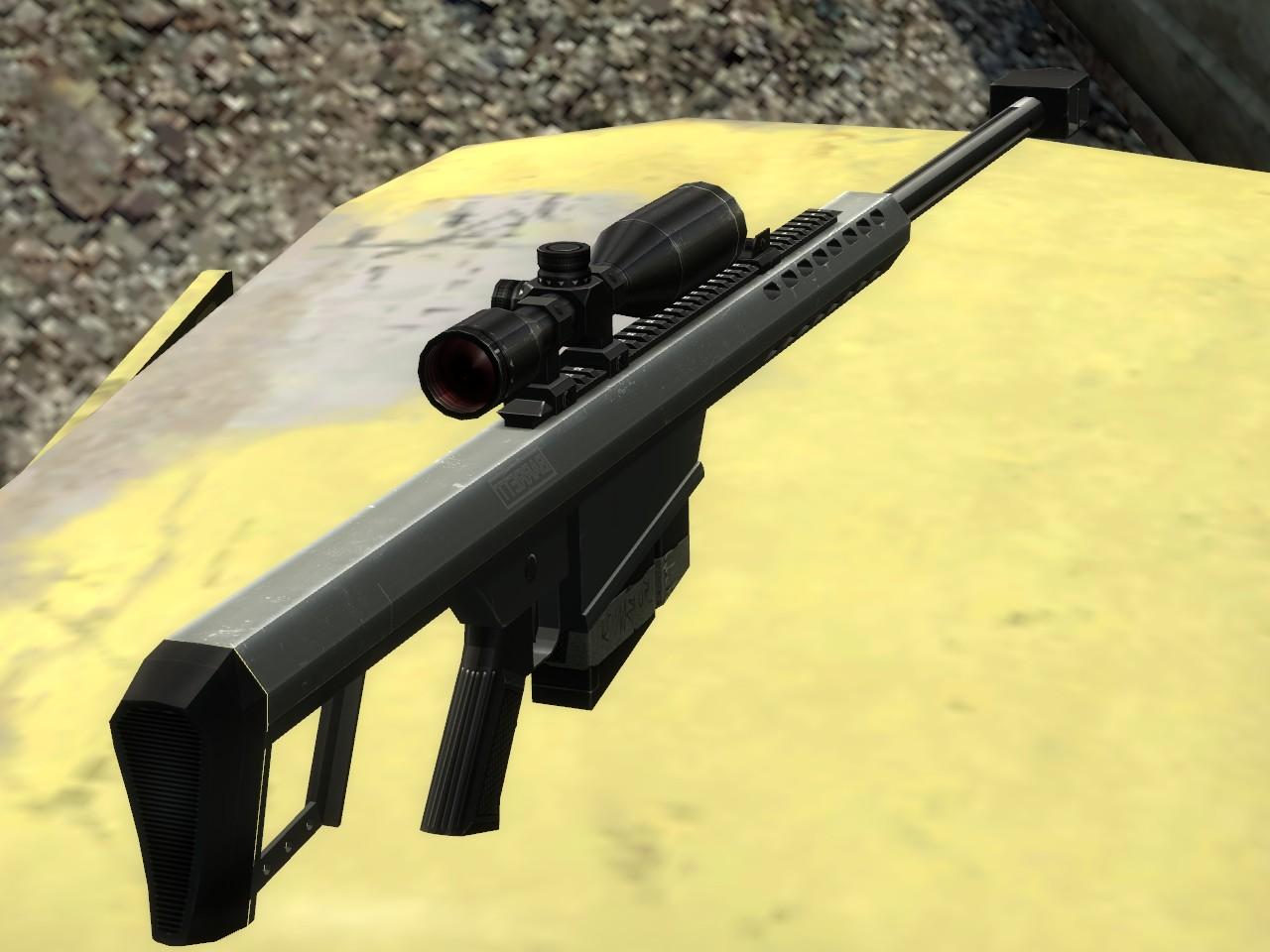 Снайперская винтовка - Half-Life 2
