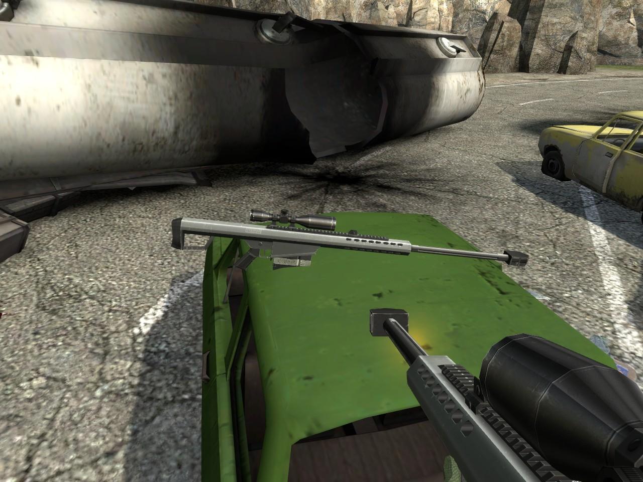 Снайперская винтовка 2 - Half-Life 2