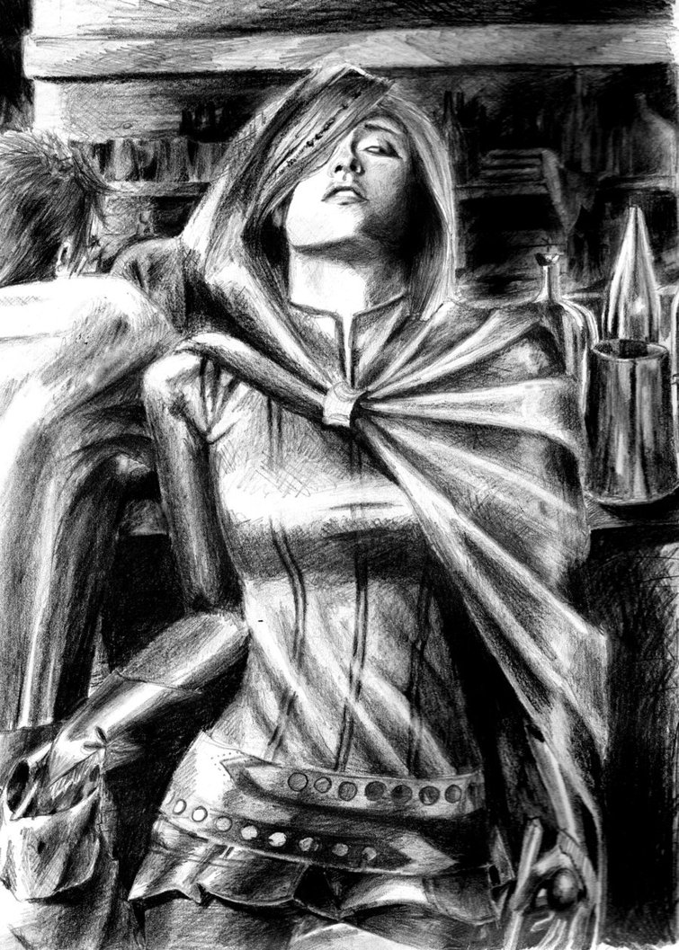 Имоен - Baldur's Gate 2: Shadows of Amn
