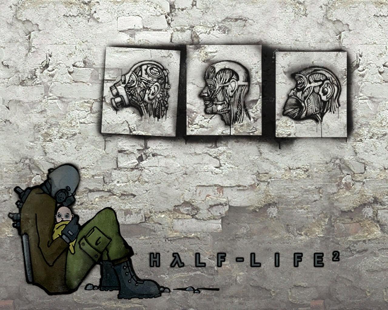 58a - Half-Life 2 альянс, го, графити