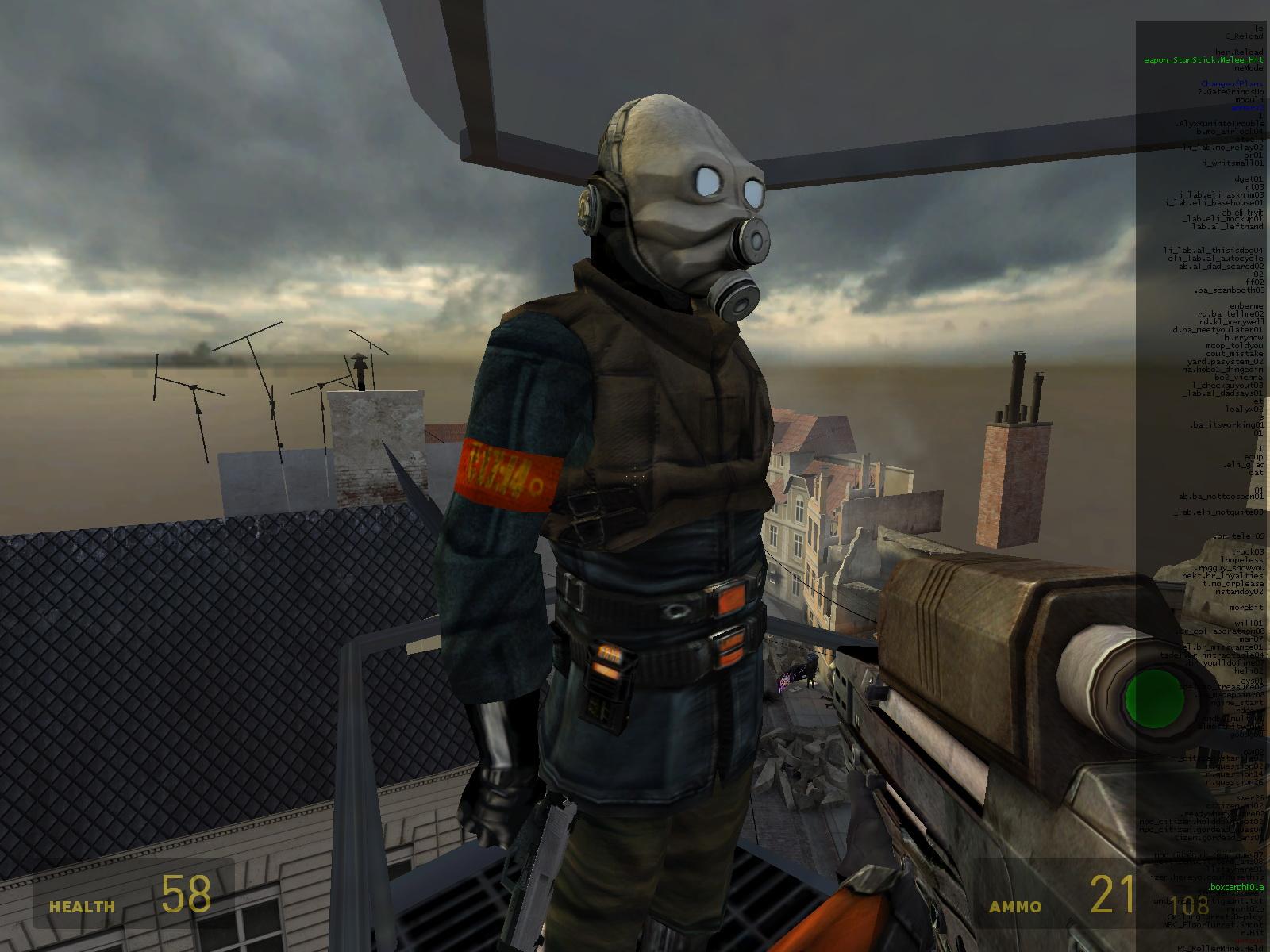 Метрокоп 3 - Half-Life 2