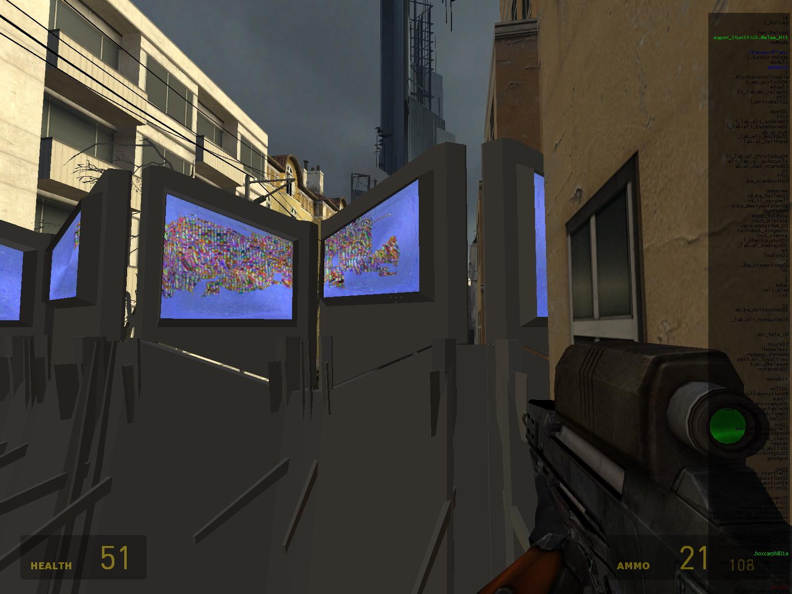 Поле с глюками - Half-Life 2