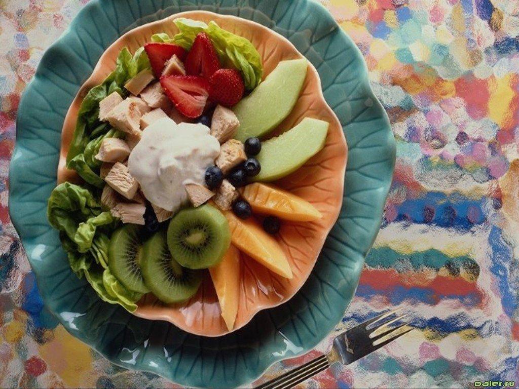 Фрухтовый салат - -