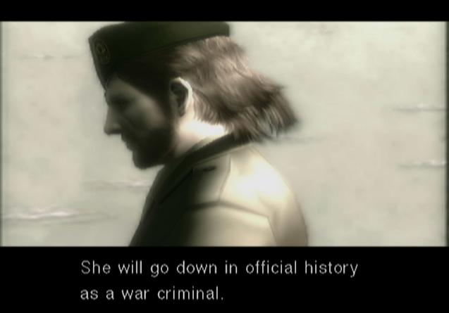 ... - Metal Gear Solid 3: Snake Eater