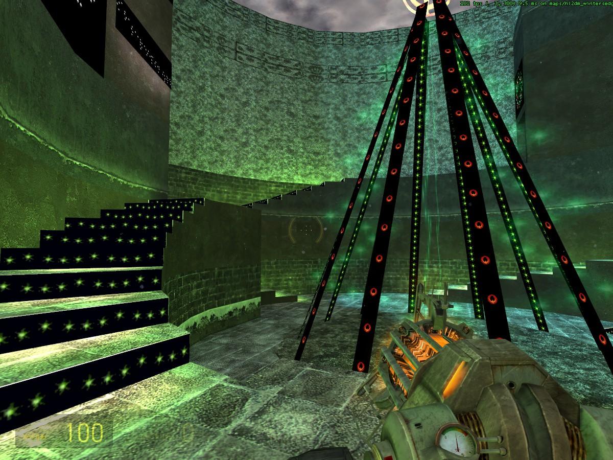 Испоганенный после обнов hl2dm_wintersedge - Half-Life 2