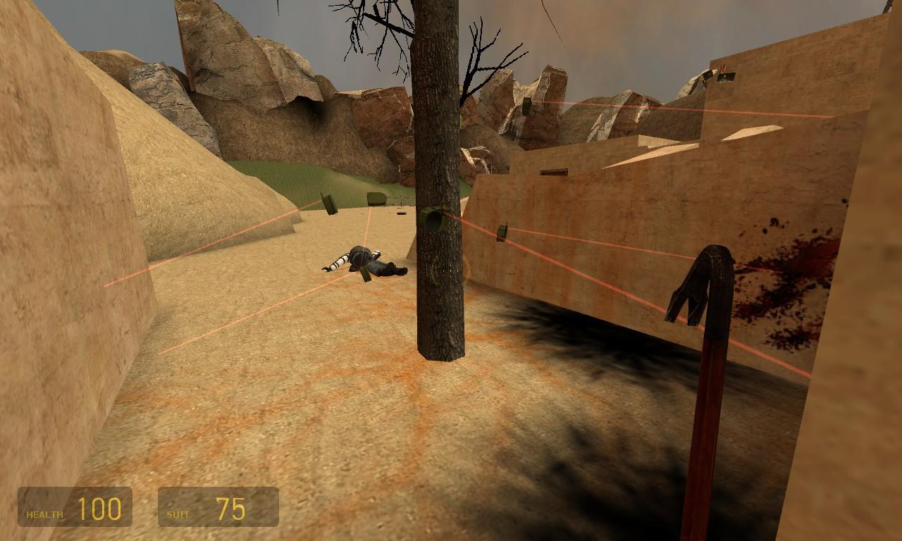 Ёлочные огни - Half-Life 2