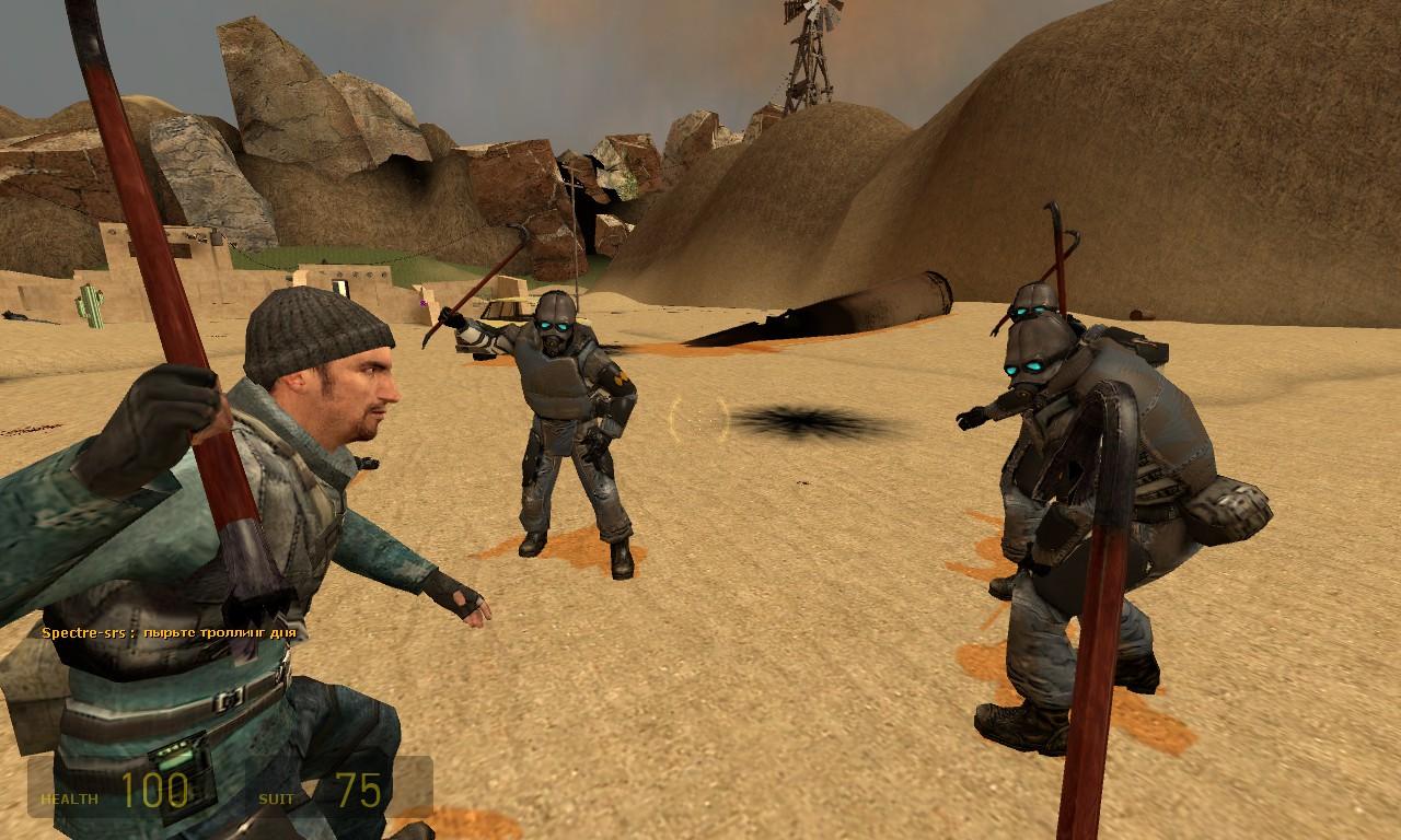 За секунду до взрыва - Half-Life 2