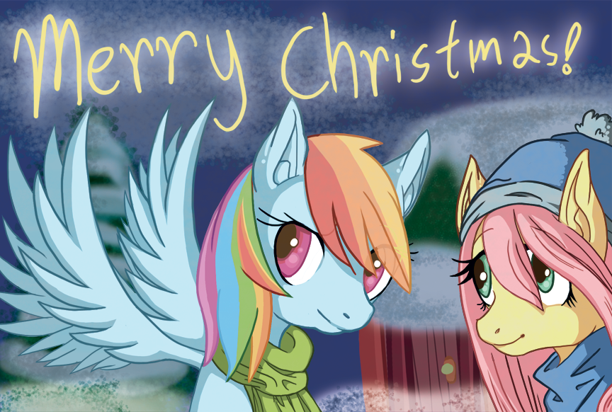merry_christmas_from_dashy_and_fluttershy_by_irenezelle-d4k4ta8.png - -