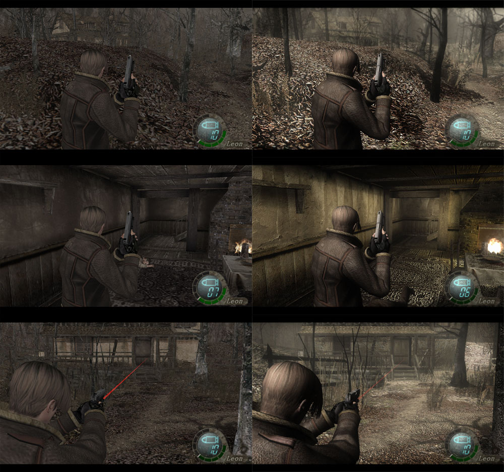 Resident Evil 4 - graphic mods - -